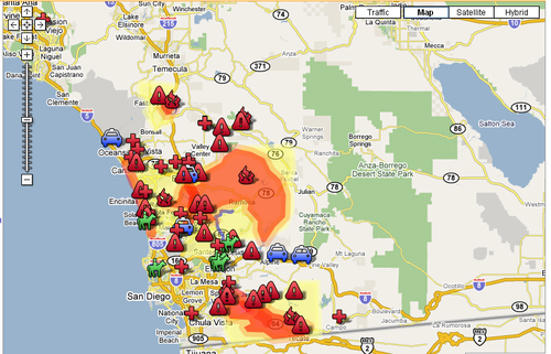 Cal Fire Map Today.Ca Fire Maps Lavender Room Slowtwitch Forums