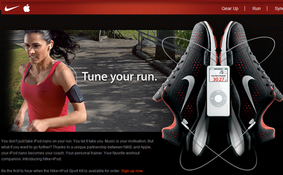 The Big Picture: Nike + Apple = Cool Gadgets