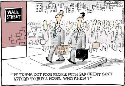 Subprime Mortgage Humor - Mortgage Loan Place.com