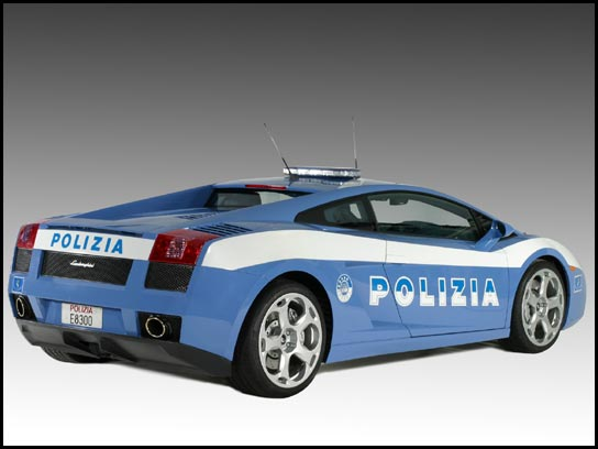 police fast cars