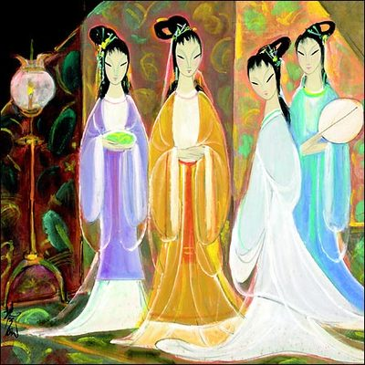Nyt_lin_fengmians_four_beauties