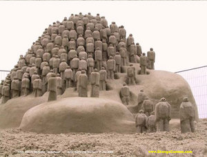 cool sand carvings